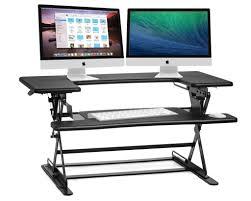 Standing Desk Extension The 6 Best Adjustable Standing Desks In 2017 Top Reviews