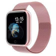 T80 akıllı saat kadın erkek spor moda Ip67 su geçirmez aktivite spor izci  kalp hızı ağız Smartwatch Vs P68 P70 bilezik Smart Watches