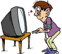 Watching tv clipart google - WikiClipArt