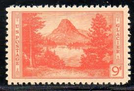 national parks series and farley reprints stamp  if you compare the source photo and the essay the issued stamp design you see the couple in both the source photo and the essay have been removed for