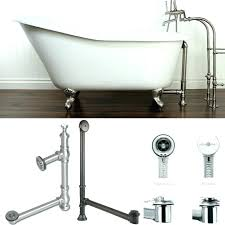bathtubs bathtub drain kit flexible tub bronze and rotating stopper trim