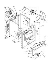 Crosley model ced137sxq0 residential dryer genuine parts rh searspartsdirect crosley dryer thermal fuse crosley electric dryer schematic