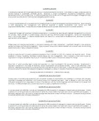 Executive Summary Resume Examples Mesmerizing Sample Resume With Summary Statement Resume Summary Statement