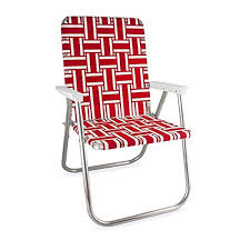 folding lawn chairs. Interesting Chairs Lawn Chair USA Webbing Deluxe Red And White With Arms Throughout Folding Chairs L