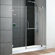 amazing shower glass door replacement shower doors glass glass shower door hinge gasket replacement