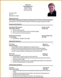 Resume For Teachers Job Application Best Resume Collection Waa Mood