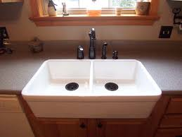 farmhouse sink with laminate countertops dumound on it d be easier