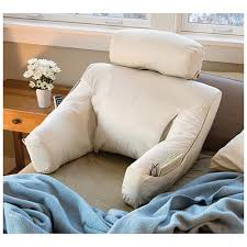 Bed Lounge Back Support Pillow for reading and TV