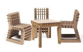 cardboard chairs and table set cardboard chair design no glue27 design