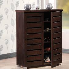 wood office cabinet. Adalwin Dark Brown Tall Storage Cabinet Wood Office