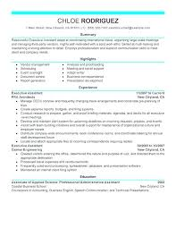 Sample Administrative Resume Objectives Resumes Template Executive Stunning Objective Resume Administrative Assistant