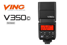 <b>Вспышка Godox Ving</b> V350C TTL аккумуляторная для Canon ...