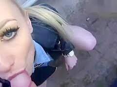 German Blonde Amateur Public