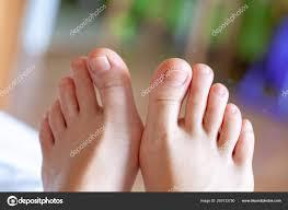 Pánské špičky Zdravé Nehty Na Nohou Stock Fotografie Mironovm