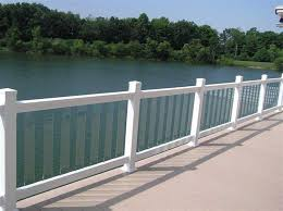 glass deck railings hard to keep clean
