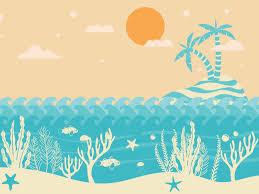Summer Powerpoint Templates Summer Heat Holidays Backgrounds Summer Heat Hol Days Ppt