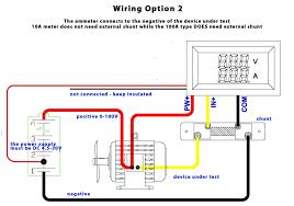 dc ammeter shunt wiring diagram lorestan info Battery Bank Wiring Diagram at Amp Meter Shunt Wiring Diagram
