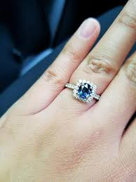 sapphire wedding rings. natural-color-changing-sapphire-engagement-ring sapphire wedding rings n