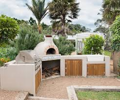 Italian Outdoor Kitchen Life Is Sweet In This Waiheke Garden That Features A Touch Of