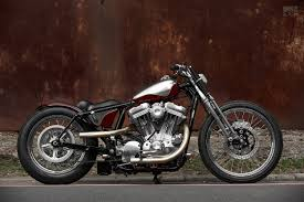 subtle deception a harley sportster bobber from 2loud bike exif