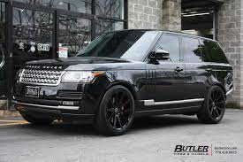 Land Rover Range Rover With 22in Redbourne Kensington Wheels Land Rover Range Rover Supercharged Range Rover