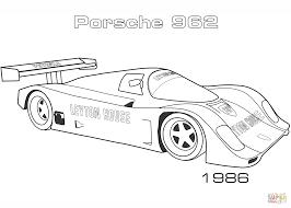 Coloriage 1986 Porsche 962 Coloriages Imprimer Gratuits