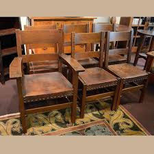 stickley dining chairs