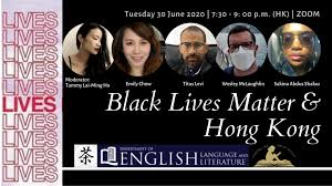 """t on Twitter: """"""""Black Lives Matter & Hong Kong"""", co-sponsored by the  Department of English at @hkbaptistu and @asiancha, features Emily Chow,  Titus Levi, Wesley McLaughlin, & Sakina Abdus Shakur, who will"""