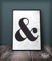 ampersand wall decor personalized ampersand wall decor