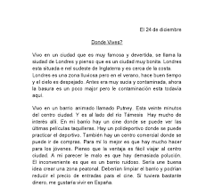 donde vives spanish essay gcse modern foreign languages  document image preview