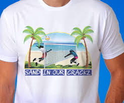 Sand Volleyball T Shirt Designs Playful Bold T Shirt Design For Gfi Innovations Inc By