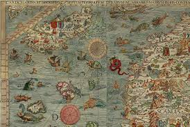 what's with the sea monsters on old maps  mental floss