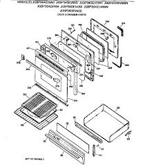 general electric jgbp35wev4ww gas range timer stove clocks and jgbp35wev4ww gas range door drawer parts diagram