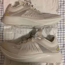 New Unworn Nike Zoom Fly Sp Light Bone Size 13