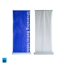 Retractable Display Stands Silverwing Retractable Banner Stands Vinyl Graphic 17