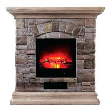 faux stone electric fireplace canada