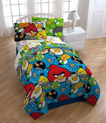 angry bird bed sheets get them an angry birds comforter to climb