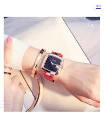 GUOU Women's Watches <b>2019</b> Square Fashion <b>zegarek damski</b> ...