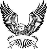 hawk wing clipart. Unique Clipart Wings Eagle With Emblem To Hawk Wing Clipart W