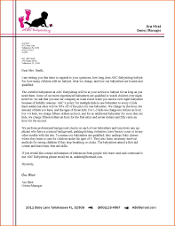 Business Correspondence Letters Examples Formal Business Letter Block Format 10 Modified Examples Of