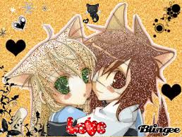 anime chibi cat couples.  Couples On Anime Chibi Cat Couples