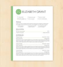 Word Document Resume Template Awesome Resume Template CV Template The Elizabeth Grant Resume Design