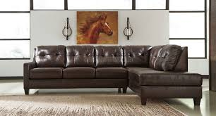 Mahogany Living Room Furniture Okean Mahogany Right Chaise Sectional Sectionals Living Room