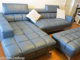 Sofia Vergara Sybella Blue 2 Pc Sectional Cocktail 5 Ad