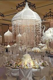add sparkling chandeliers in the picture