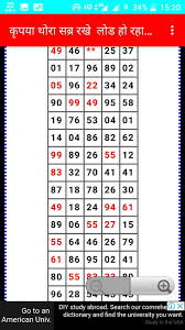 76 Rare Today Kalyan Matka Number Chart