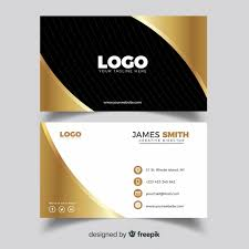 Professional Business Card Template With Elegance Vector