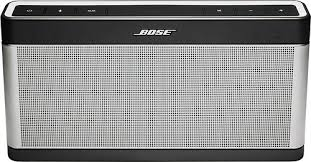 bose portable speaker. bose® - soundlink® portable bluetooth speaker iii silver/black bose n