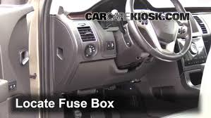 interior fuse box location 2009 2016 ford flex 2013 ford flex locate interior fuse box and remove cover