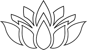 pin lotus clipart silhouette 13 lotus flower black and white png